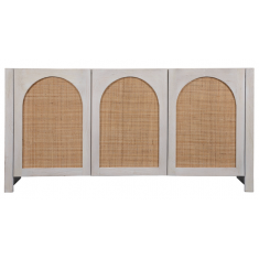 Candy Rattan Sideboard White | Sideboards & Consoles | Sideboards and Consoles | Sideboards and Consoles | NEW ARRIVALS