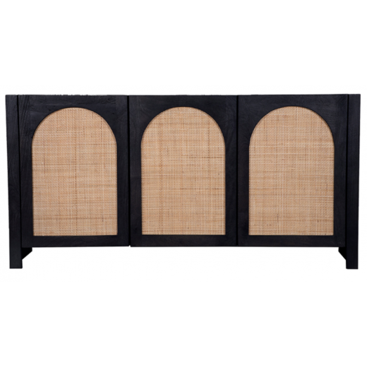 Candy Rattan Sideboard Black | Sideboards & Consoles | Sideboards and Consoles | NEW ARRIVALS | Home