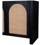 Candy Rattan Sideboard Black