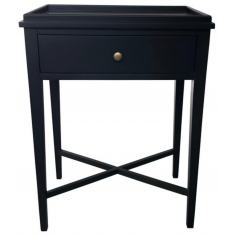 Bordeaux Bedside Black  | Bedside Tables | Bedroom | Bedroom
