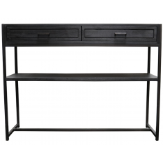 Cromwell Console Rustic Black  | Sideboards & Consoles | Sideboards and Consoles | Sideboards and Consoles | NEW ARRIVALS