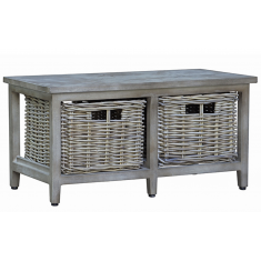 Manyara Bench  | Benches & Ottomans | Seating | Shelving, Storage and Cabinets | NEW ARRIVALS