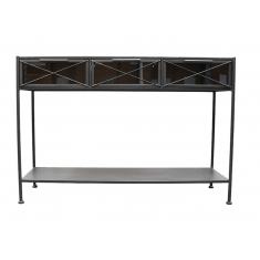 Inglewood Iron & Glass Console  | Sideboards & Consoles | Sideboards and Consoles