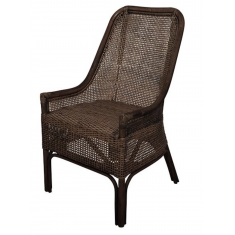 Albany Rattan Chair Chocolate | Dining Chairs | Seating | Seating