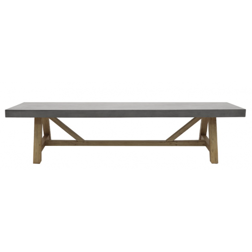 Alorac Concrete Bench  | Outdoor Furniture | Benches & Ottomans | Seating