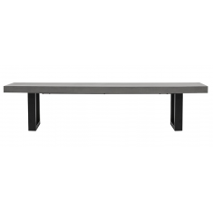 Nero Outdoor Concrete Bench 180 cm  | Outdoor Furniture | Benches & Ottomans | NEW ARRIVALS