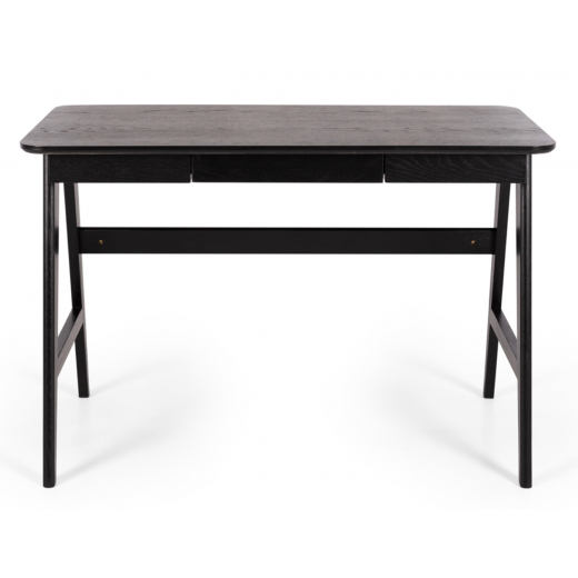 Radius Desk Black Oak  | Desks | Chests and Desks | Chests and Desks