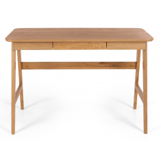 Radius Desk Natural Oak  | Desks | Chests and Desks | Sideboards & Consoles