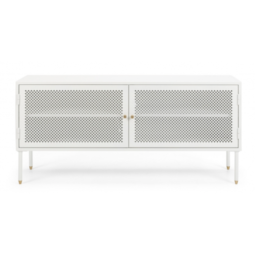 Dawn Metal TV Unit 1200 White  | Entertainment Units | Shelving, Storage and Cabinets | Entertainment Units | Storage, Shelving and Cabinets | Storage, Shelving and Cabinets