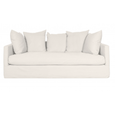 Chalet Slip Cover 2 Seater Sofa  Cloud | Sofas | Seating | Seating