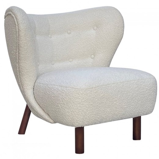 Betty Boucle Occasional Chair   Occasional Chairs   Seating   Seating   Home   Seating