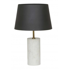 Easton Marble Table Lamp Black/White  | Table Lamps | NEW ARRIVALS