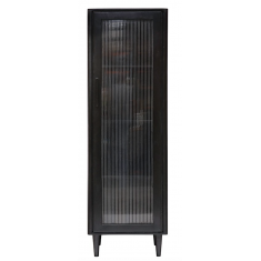 Tate Display Cabinet Black Tall  | Shelving, Storage & Cabinets | Storage, Shelving and Cabinets | Storage, Shelving and Cabinets | NEW ARRIVALS