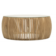 Crusoe Slatted Coffee Table  | Coffee Tables | Tables | NEW ARRIVALS