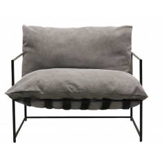 Lauro Club Chair Grey Large | Occasional Chairs | Seating | Seating