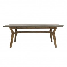 Franco Concrete Outdoor Table 2 m   Outdoor Furniture   Dining Tables   Tables