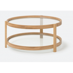Column Coffee Table Oak  | Coffee Tables | Tables | Tables | Tables