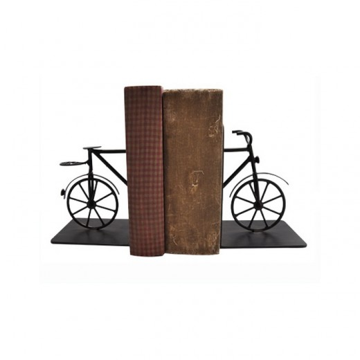 Bicycle Iron Book Ends | Home Décor & Gifts