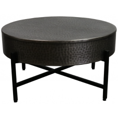 Bang Coffee Table Antique Nickel   Coffee Tables   Tables   NEW ARRIVALS