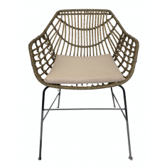 Brunswick Outdoor Chair Natural  | Outdoor Furniture | Seating | Seating