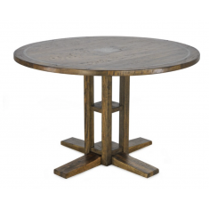 Clover Inlay Round Dining Table 1200 | Dining Tables | Tables | Tables
