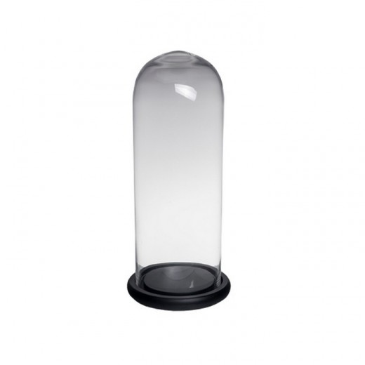 Black Glass Dome Tall | Home Décor & Gifts