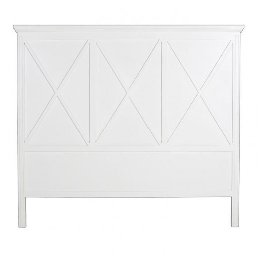 Avery Bed Head King/Super King White | Bedroom | Beds & Bedheads | Bedroom | Bedroom