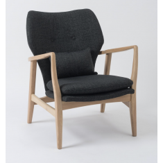 Fable Arm Chair Dark Grey  | Occasional Chairs | Seating | Seating