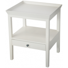 Santiago Bedside White | Tables | Bedroom | Bedside Tables | Bedroom | Bedroom