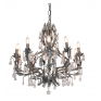 Florence Chandelier Large Two Tone Taupe
