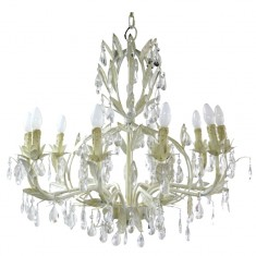 Florence Chandelier Large Cream | Chandeliers