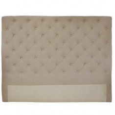 Bella Linen Headboard Queen | Bedroom | Beds & Bedheads | Bedroom