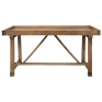 Rustic Elm Tray Top Console
